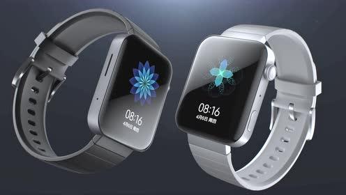 小米手表,科技银和典雅黑,美吗?