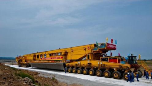 中国打造价值1.8亿的起重机!自重达到1700吨,施工场面震撼人心