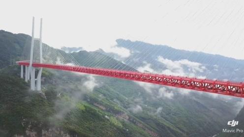 世界上第一座高桥在中国,565米高度简直逆天,站在上面都不敢往下看