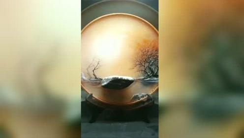 就这么一个盘子,竖着摆就敢卖3000万,艺术品我真的不懂!