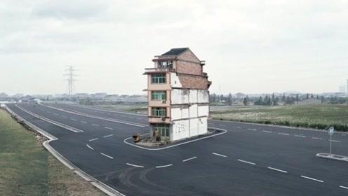 """中国最强""""钉子户"""",给100亿毫不心动,开发商一看:这谁敢拆!"""