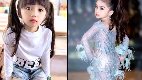 泰国6岁女孩获选美小姐冠军走红,网友们看后直呼想要生女儿