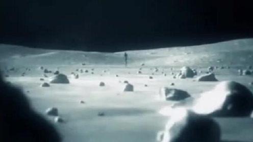 """月球拍到重大""""疑点"""",放大像一个小人在奔跑,专家:被弄蒙了"""