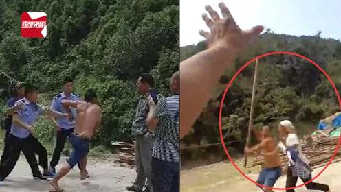 太嚣张!广西一男子无故拦路,辱骂、威胁、殴打执法人员被批捕