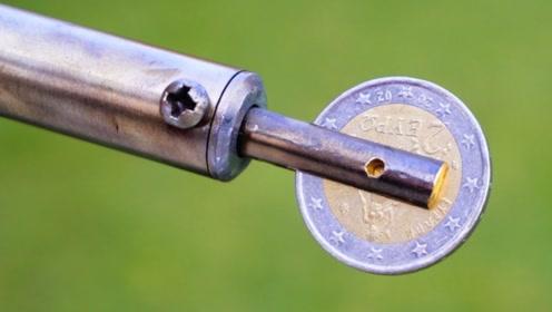 电烙铁上装个硬币,没想到这么厉害,太有才了