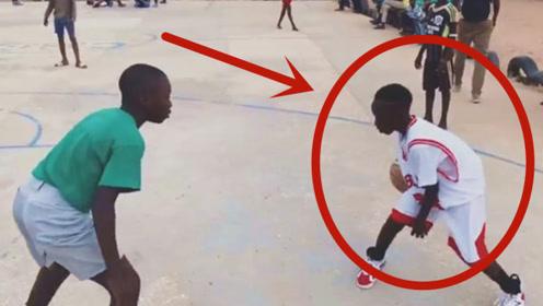 """11岁""""非洲天才"""",打球灵动飘逸,这水平进了NBA要当巨星!"""