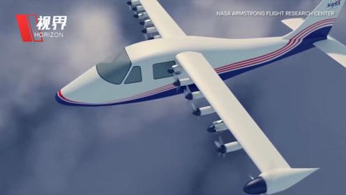 近距离接触NASA第一架电动飞机 或颠覆传统航空业