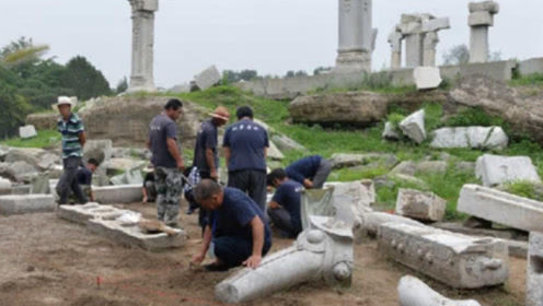 圆明园被毁100多年后,专家修复时曝出新发现,竟挖到意外收获