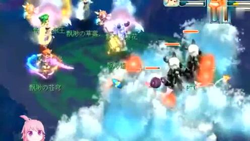 梦幻西游:钓鱼岛法系输出如轰炸机,无间地狱一开,群秒过万伤害