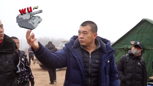 《河山》幕后花絮,又是导演又是演员的王新军,没想到还是个口技表演艺术家
