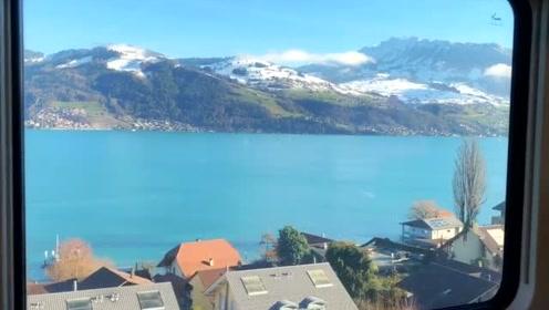 瑞士少女峰脚下,那无限的美丽风光!