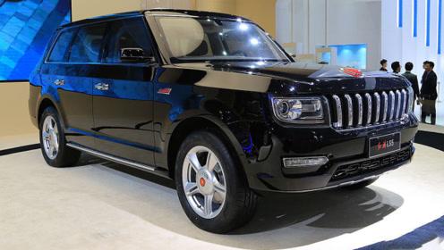 红旗太长脸了,9条龙,祥云轮毂完美融入,绝对是中国最帅SUV!