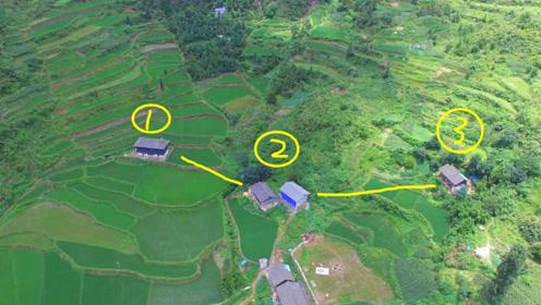 三户人家位置不一样,比较地理位置,哪一户才是最好呢