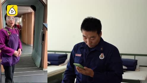 消防员高铁上偶遇战友母亲,对话令人心酸:战友看视频后哽咽
