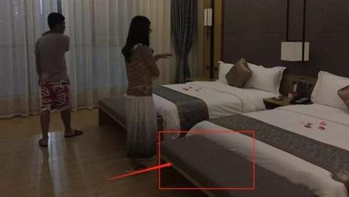 """酒店房间床尾的长椅有什么用?客房阿姨透露其中的""""猫腻"""""""