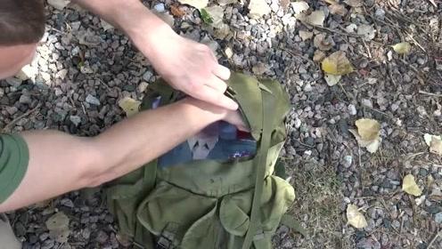 战术教学,老兵如何给装备做防水处理