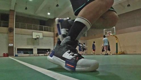 球鞋分享:我的态极篮球鞋形变,闪现+缓冲+急停转向,超过瘾!