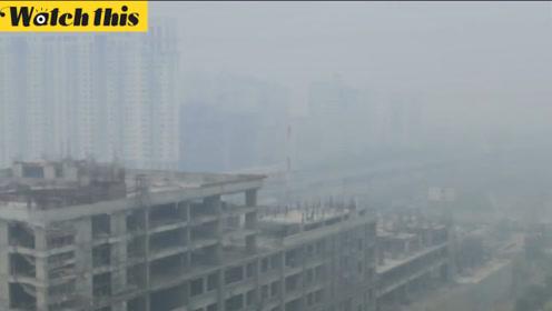 印度空气污染爆表宛如毒气室 德里全市学校停课