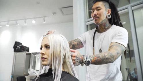 世界上最贵的理发师,剪一次花20万,一次剪3天!