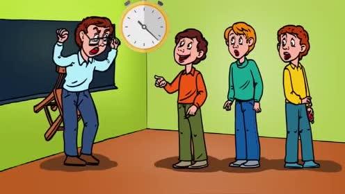脑力测试:教室里两位老师!哪一位才是坏老师呢?!