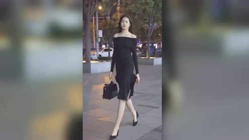 北京街头遇到的高挑美女,这种有高贵气质的姑娘,什么人才配得上?
