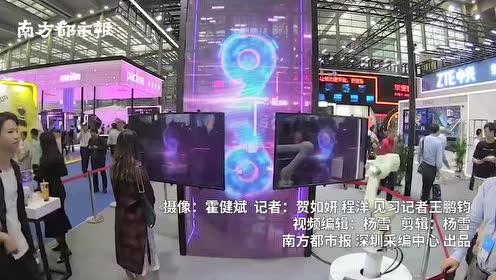 5G时代长什么样?机器人对战真人,5G手机、无人车亮相高交会