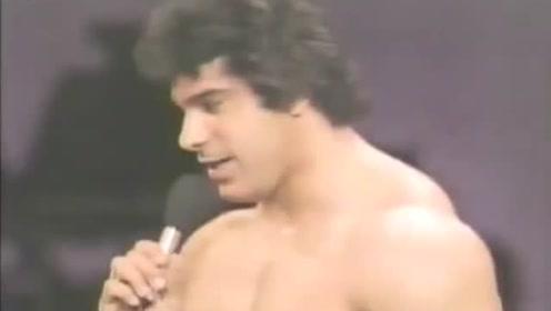 历史上第一代绿巨人!1978年真人版浩克Lou Ferrigno!