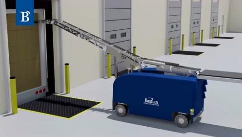 1000箱/小时,国外全自动高速装卸机器人