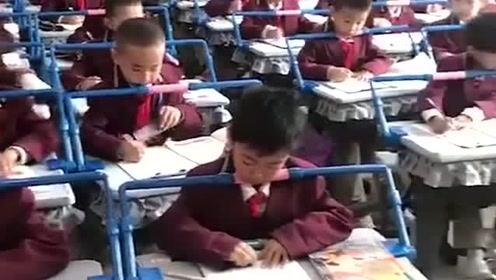 现在的学校也已经注重学生的近视问题了,以后就不是同桌的你了,是同杠的你