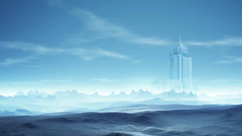 山东现海市蜃楼,里面出现的画面无人见过,疑似时空错乱