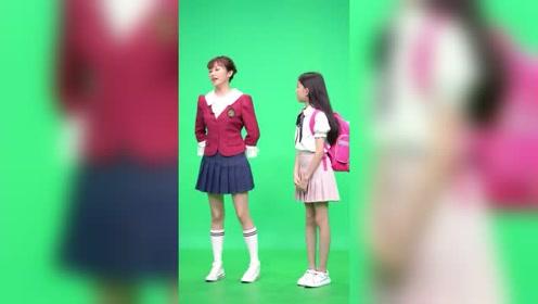 宋小睿录制节目,看小睿的演技真不错,网友不愧是小童星,真棒