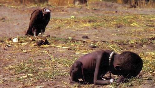 """闻名世界的""""秃鹫和小女孩""""照片,26年过去了,小女孩怎样了?"""