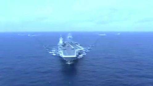 首秀!首艘国产航母成功驶入台湾海峡