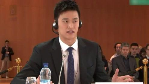 孙杨听证会后发声:站在世界面前说话 提升中国话语权