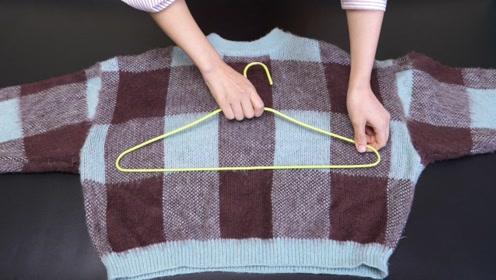 今天才知道,挂了这么多年的毛衣方法都是错的,这才是最正确方法