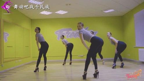 """满屏都是""""筷子腿""""!俄罗斯女孩穿15cm高跟鞋秀舞,好美"""