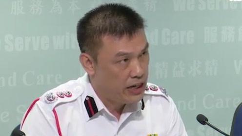 大学校园内危险化学品被盗 香港消防呼吁暴徒顾及市民安全切勿使用