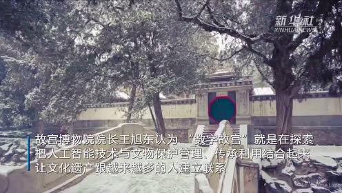 """王旭东:人工智能技术推动传统文化走进""""共享""""时代"""