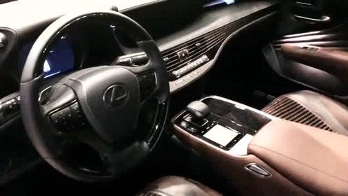 新雷克萨斯LS广州车展亮相!