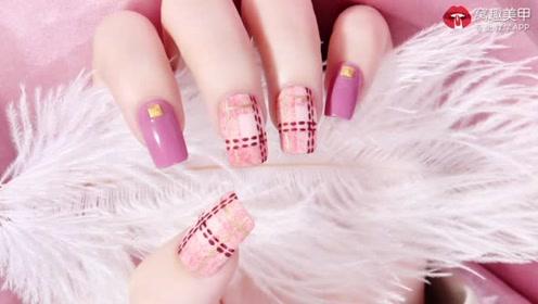 粉色皮草 可爱毛毯格子