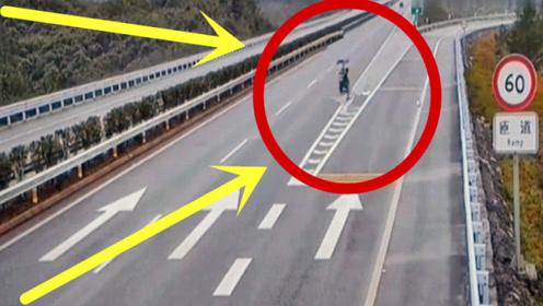 大妈骑电车冲上高速,逆向行驶数公里,家人查看监控太揪心!