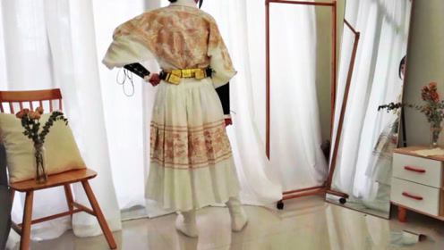 汉服开箱:一件温柔与霸气集于一身的汉服,女生男生穿都好看!