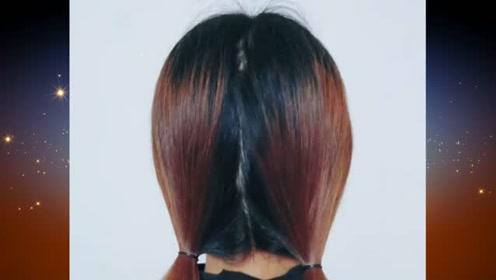 非常适合小女生的扎发发型,尽显俏皮可爱气质,仙女范十足