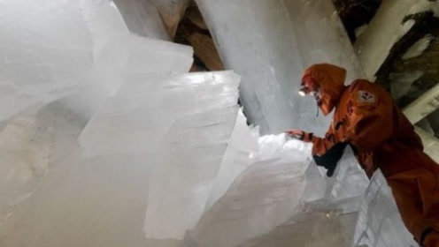 世界上最大的水晶洞穴,却含有大量病毒,人在洞内停留不能超5分钟!
