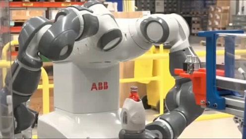 双臂协作机器人,视觉识别,小件装配速度杠杠的