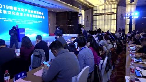 2019首都文化产业投融资峰会暨北京文化企业上市培育基地年会成功举行