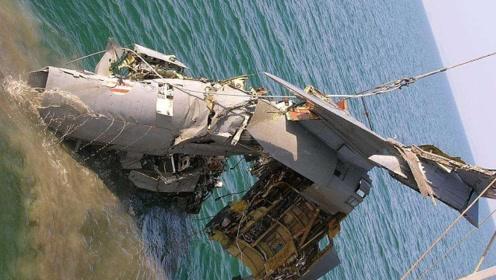 美航母闯下大祸,2000万吨氢弹掉进日本海域,至今找不到