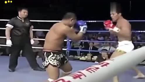 外国拳手KO中国名将!死神方便为中国勇士完美复仇,激动人心