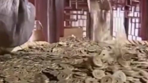 古代的一个白银竟然值现在这么多的钞票,难怪只有达官贵人才用银子