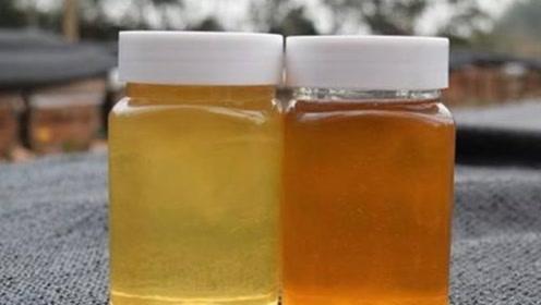 买蜂蜜时不用开盖,就能辨别蜂蜜真假,可惜我也刚学会,这招太有效了